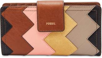 Fossil Logan Patchwork Bifold Wallet