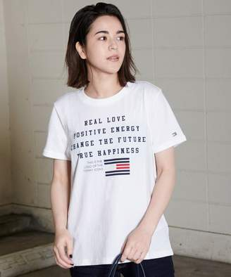 Tommy Hilfiger (トミー ヒルフィガー) - TOMMY HILFIGER フラッグロゴTシャツ