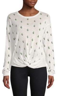 Cactus Knot Front Sweater