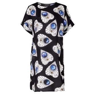 Coleman Louise Planchette Silk T-Shirt Dress
