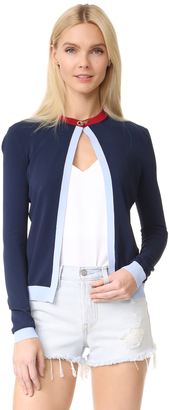 Versace Cardigan $675 thestylecure.com