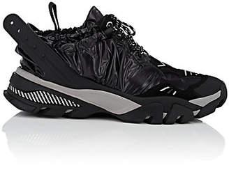 Calvin Klein Men's Drawstring Nylon & Suede Sneakers - Black
