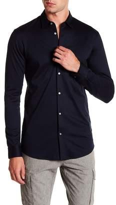 Scotch & Soda Slim Fit Knit Shirt
