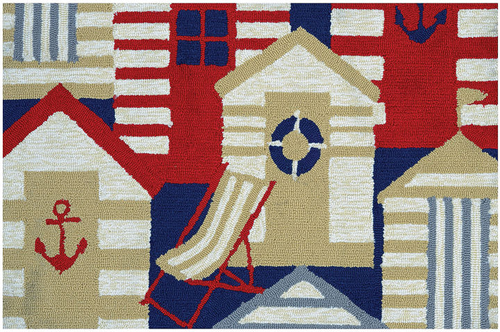 CouristanCouristan Cabana Hooked Rectangle Accent Rug
