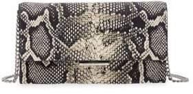 Loeffler Randall Python Chain Shoulder Clutch
