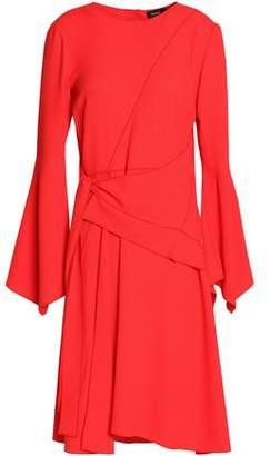 Proenza Schouler Tie-Front Crepe Dress