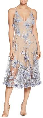 Dress the Population Audrey Floral Midi Dress