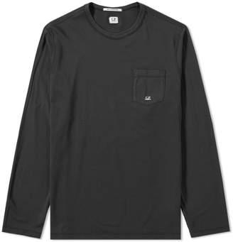 C.P. Company Long Sleeve Pocket Logo Tee