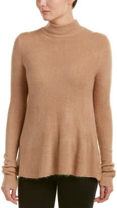 Olivaceous Open Back Sweater