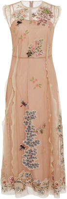 Red Valentino Sequin And Bead Embroidered Dress $5,350 thestylecure.com