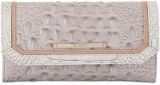Brahmin Soft Checkbook Tri Color Wallet