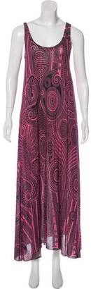 Jean Paul Gaultier Printed Maxi Dress