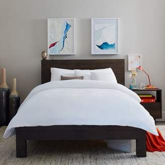 west elm Emmerson® Reclaimed Wood Bed - Chestnut