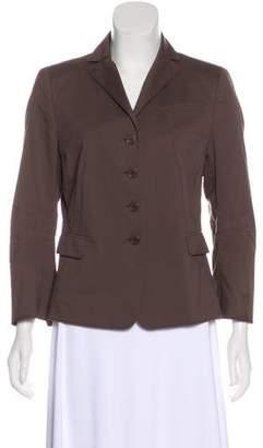 Akris Punto Structured Button-Up Blazer