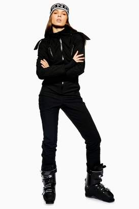 Topshop Black Hooded Snow Suit by SNO