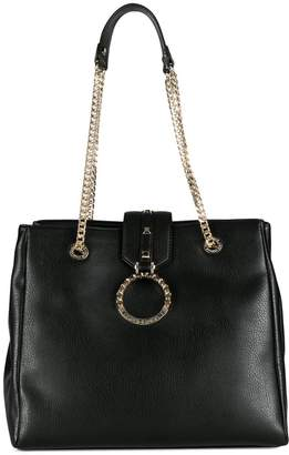 Versace chain tote bag