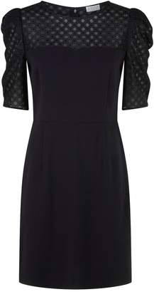 Claudie Pierlot Lace Yoke Dress