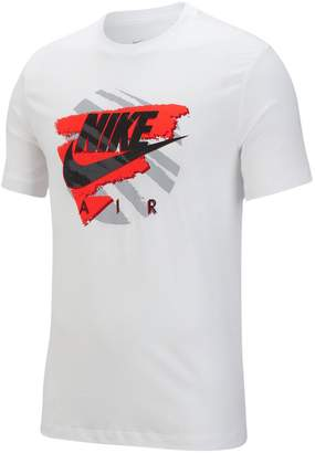 Nike Logo Graphic Short-Sleeve Cotton Tee