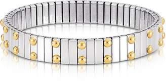 Nomination Beads Stainless Steel w/Golden Studs Women's Bracelet