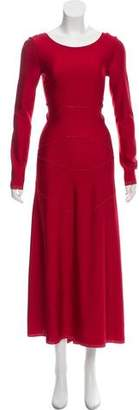 Alaia Long Sleeve Evening Dress w/ Tags