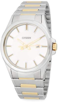 Citizen Men's Two-Tone Stainless Steel Bracelet Watch
