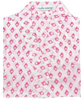 India Amory Pink Diamonds Robe