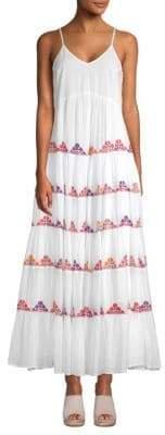 Carolina K. Marieta Tiered Maxi Dress