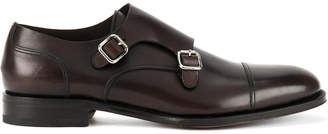 DSQUARED2 buckled monk shoes