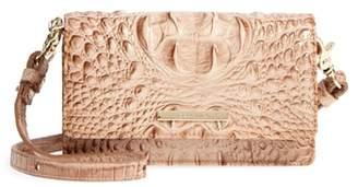 Brahmin Nadia Croc Embossed Leather Crossbody Bag