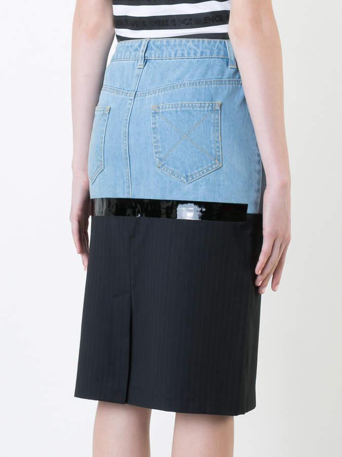 Each X Other midi denim skirt