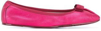 Salvatore Ferragamo My Joy ballerina shoes $323.14 thestylecure.com