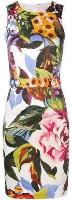 Blugirl floral fitted dress