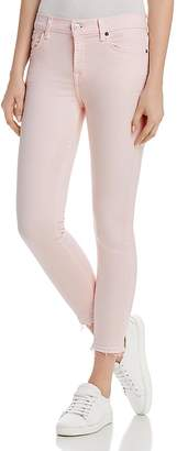 7 For All Mankind Ankle Skinny Jeans in Pink Sunrise