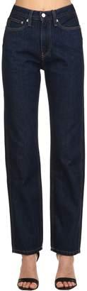 Calvin Klein Jeans High Rise Straight Denim Jeans