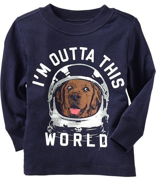 "Old Navy ""I'm Outta This World"" Tees for Baby"