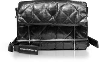 Alexander Wang Halo Black Quilted Leather Shoulder Bag