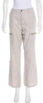 Calvin Klein Jeans Mid-Rise Wide-Leg Pants