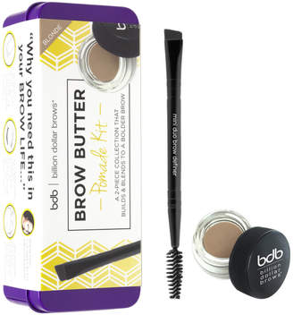 Billion Dollar Brows Brow Butter Pomade Kit (Various Shades) - Blonde