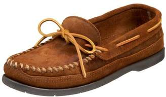 Minnetonka Men's Double Bottom Slip-On