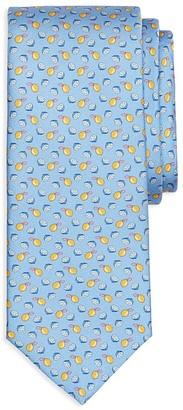 Brooks Brothers Lemon Print Classic Tie $79.50 thestylecure.com