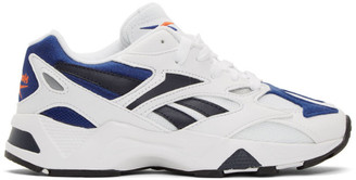 Reebok Classics White and Black Aztrek 96 Sneakers