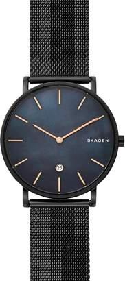Skagen Hagen Slim Mesh Strap Watch, 40mm