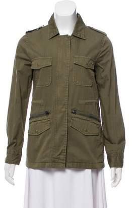 Lily Aldridge for Velvet Military Long Sleeve Jacket w/ Tags