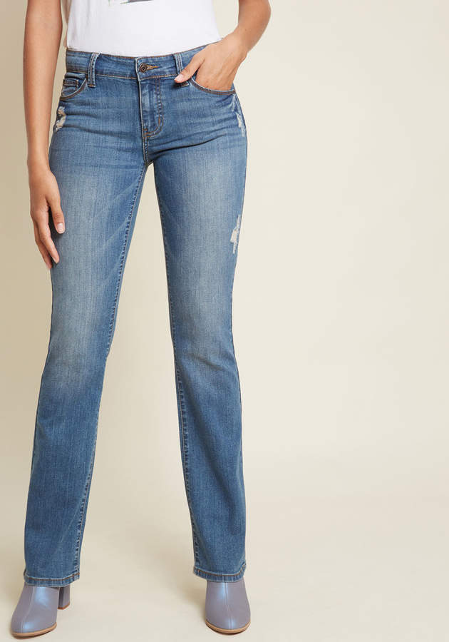 Eunina, Incorporated Act Casual Bootcut Jeans