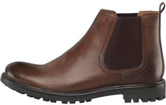 Base London Mens Course Boots Waxy Brown