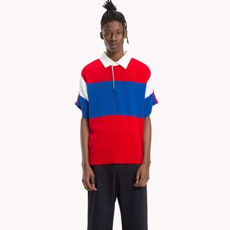Tommy Hilfiger Oversized Short Sleeve Rugby Shirt