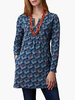 Floral Jersey Tunic, Multi