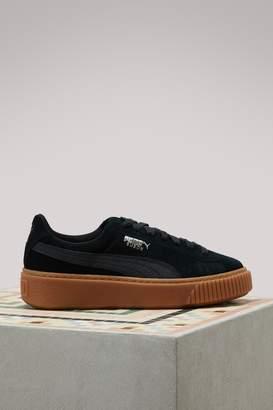 Puma Wns Suede Platform Gum Cam sneakers
