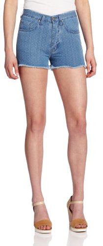MiH Jeans Women's Halsy Hi Rise Cut Off Short
