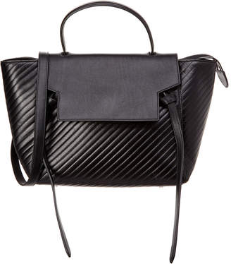 Celine Diagonal Quilted Leather Belt Bag
